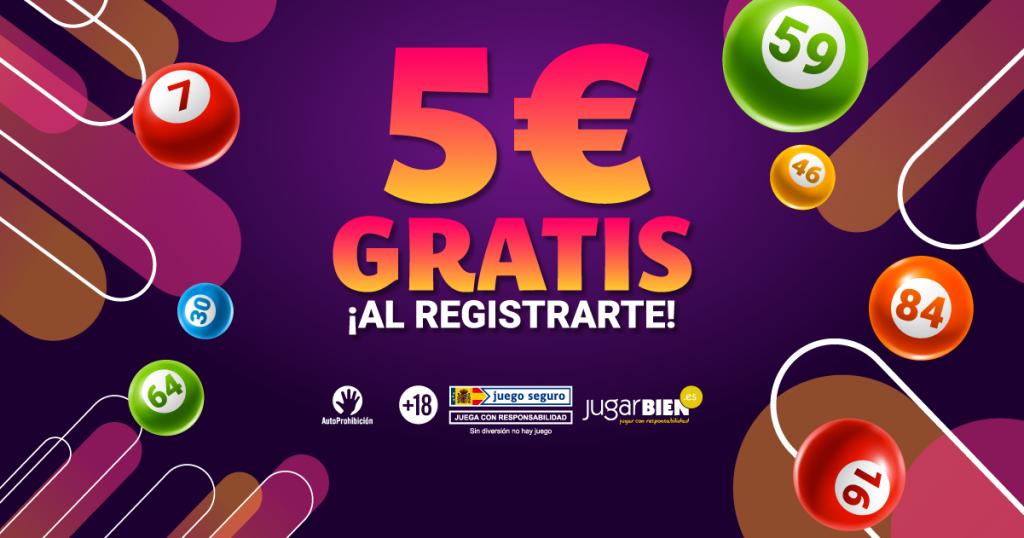 YoBingo 5€ gratis