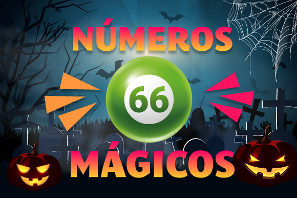 números mágicos 66 halloween