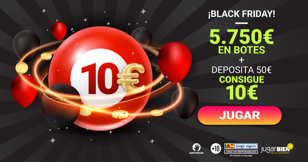 Black Friday en YoBingo