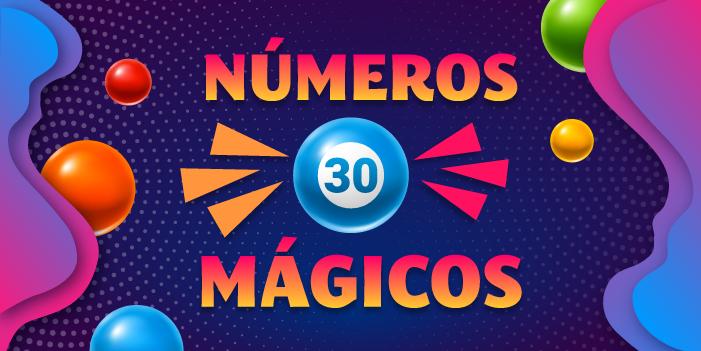 números mágicos 30