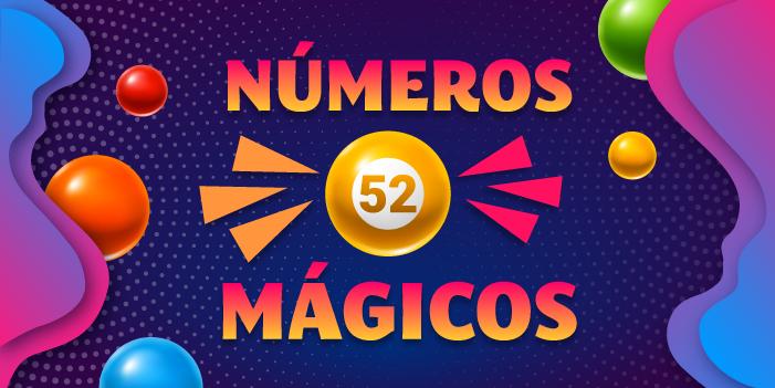 números mágicos 52