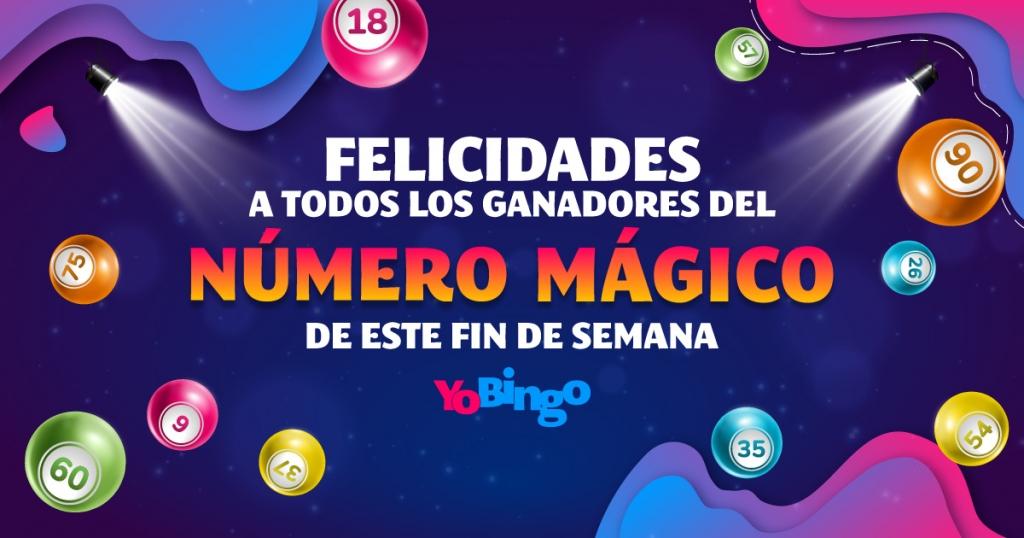 felicidades a los ganadores números mágicos 56