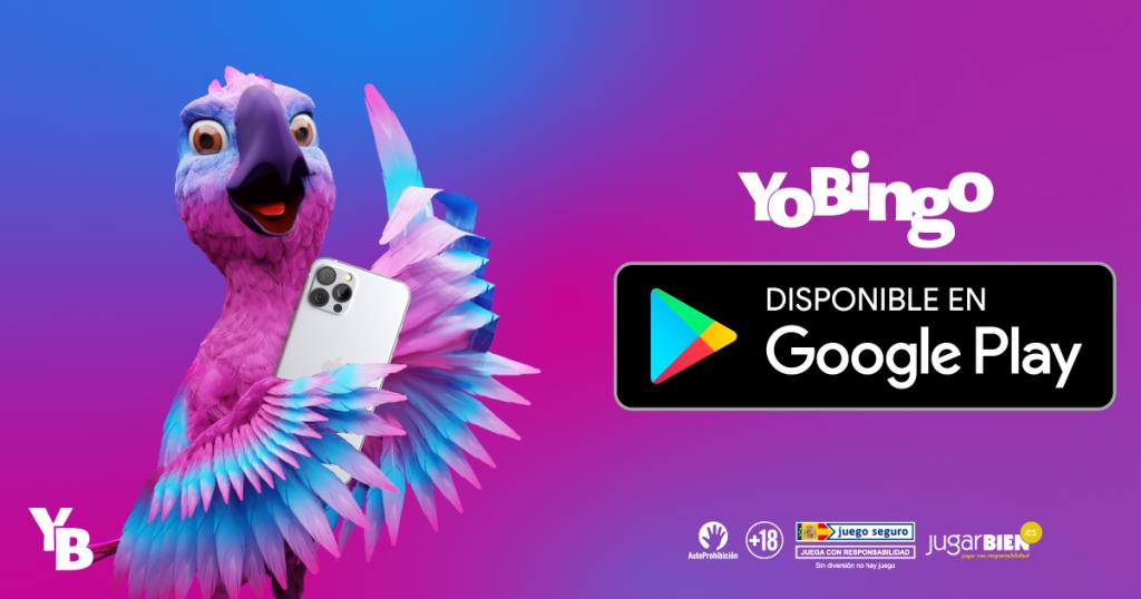 Descarga la app de YoBingo para Android